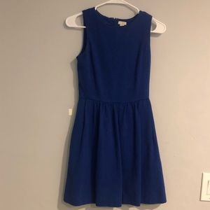 J. Crew Factory cotton dress with pockets